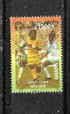 GHANA SC #B4 1997 1500C WORLD SOCCER CHAMPS COMMEMORATIVE STAMP