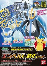 Pokemon GO Plastic Model Kit PIPLUP PRINPLUP EMPOLEON Evolution Set PokePlamo