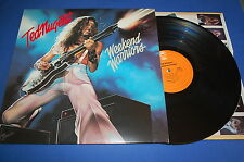 TED NUGENT - WEEKEND WARRIORS EPIC RECORDS MADE IN USA 1978