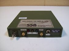 SSB ELECTRONIC WL2400-10-MEA-VM BI-DIRECTIONAL LINEAR AMP - USED - FREE SHIPPING