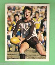 1983 RUGBY LEAGUE STICKER #133 WARREN FENTON, PENRITH PANTHERS