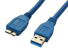 Highspeed 1m Cable USB 3.0 A a Micro B Para Carcasa NAS DL2100 WD My Cloud HDD
