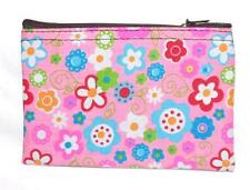 NEW HAND MADE FAIR TRADE HIPPY BOHO FLOWER POWER COTTON PURSE FROM MOROCCO