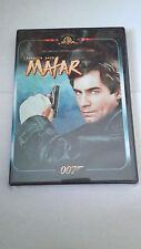 """DVD """"007 LICENCIA PARA MATAR"""" COMO NUEVA TIMOTHY DALTON"""