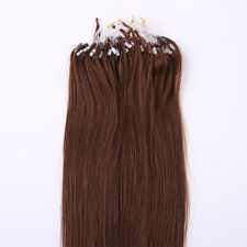 "100S Easy Micro Loop Ring Beads Remy Human Hair Extensions 18"" 20"" 22"""