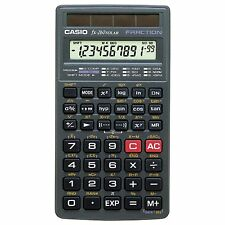 Casio fx-260 SOLAR Scientific Calculator, Black by Casio (Color: Black)