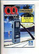 CQ ELETTRONICA  N.7 - N.70 24 Luglio 1987 - Rivista Mensile
