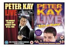 PETER KAY Live The Tour That Didn't Tour ,Live and Back on Nights NEW UK R2 DVD
