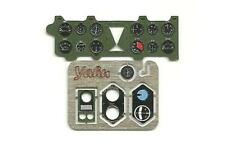 MITSUBISHI A6M2 ZERO PHOTOETCHED INSTRUMENT PANEL TO TRUMPETER#2403 1/24 YAHU