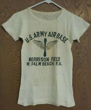 1940's WWII ARMY AIR FORCE AAF AIR CORPS T-SHIRT FROM VET ESTATE 70+ YEARS OLD