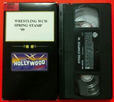 WCW/nWo Spring Stampede '99 VHS NWA WWF/WWE DX Attitude Era Monday Night Wars