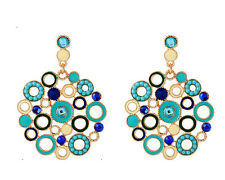 MARNI H&M  Crystal Circle Earrings