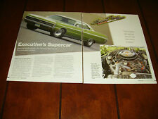 1971 PLYMOUTH SPORT FURY **ORIGINAL 2004 ARTICLE** SUPERCAR