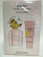 DAISY EAU SO FRESH by MARC JACOBS PERFUME 2PC SET 4.2 OZ + 2.5 LOTION SEALED BOX