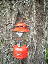 VINTAGE COLEMAN 200A LANTERN - 11 / 1976 USED LITTLE AND WORKING A-OK - CLEAN