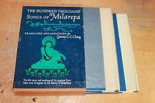 The Hundred Thousand Songs of Milarepa translated annotated by Garma C.C. Chang