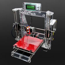 Geeetech LCD Screen DIY Self-assembly Acrylic I3 3D Printer Replicator