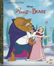 Beauty and The Beast LITTLE GOLDEN BOOK New DISNEY PRINCESS Belle GASTON