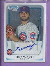 2011 Bowman Chrome 1st Autograph TREY McNUTT  no.BCP180