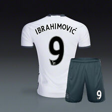 2016/17 ZLATAN IBRAHIMOVIC Manchester United Third Kit Soccer Jersey and Shorts