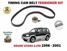 FOR SUZUKI GRAND VITARA 2.0DT TD32 RF 1997cc 8/1998 - 3/2001 NEW TIMING BELT KIT