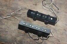1973 1974 Fender Jazz bass pickups set 8.02k 8.33k