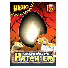 Hatch-em Hatching Dinosaur Egg Magic Growing Pet Hatches Kids Children Toy Gift
