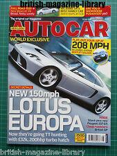 Autocar 12/7/2005 Road Test: Maserati Grand Sport Flying Spur Hummer H2 H3 CTS-V
