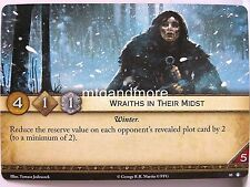 A Game of Thrones 2.0 LCG - 1x Wraiths in their midst #080 - no Middle Ground