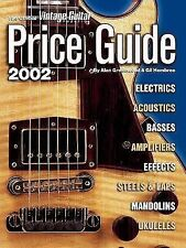 The Official Vintage Guitar  Magazine Price Guide, 2002 Edition (Official Vintag