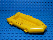 LEGO LEGOS  -  One FLOATABLE Boat, Rubber Raft,  YELLOW