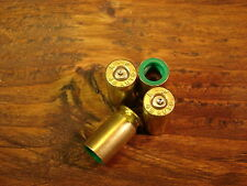 Set of 4 Bullet Valve Caps Brass REAL 45 ACP Black Friday Gift Dad Brother