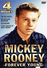 Mickey Rooney: Forever Young 4 Movie Pack by