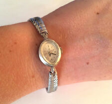 VINTAGE TISSOT WIND UP LADIES WRIST WATCH RUNS 10K R.G.P.