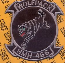 USMC Marine Corps Heavy Helicopter Squadron HMH 466 aviation pocket patch