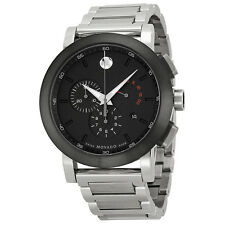 Movado Museum Chronograph Grey Dial Stainless Steel Mens Watch 0606792