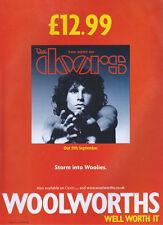The Doors Best Of Album 2000 Magazine Advert #1085