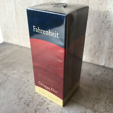 FAHRENHEIT CHRISTIAN DIOR 100 ml SPRAY VINTAGE ORIGINAL FIRST FORMULA SEALED