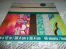 "RECOLLECTION PAPER STACK 12"" x 12  WITH 48 PICTURES - BEAUTIFUL DESIGNS"