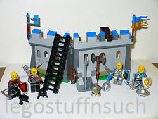 NEW Custom Lego Castle kingdom hinged wall minifigure knight dragon siege armory