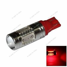 1X Car Red  5  LED COB SMD 7.5W T10 W5W Wedge Side Light Bulb Lamp A077