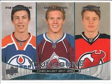 RYAN NUGENT-HOPKINS / GABRIEL LANDESKOG /LARSSON 11-12 Upper Deck YOUNG GUNS 250