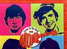 "THE MONKEES ""Listen to the Band"" 4 CD BOX-SET 80 Tracks RHINO Records + Poster +"