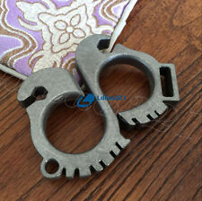 Handmade Keychain TC4 Titanium EDC Outdoor Survival wrench Bottle opener Tools