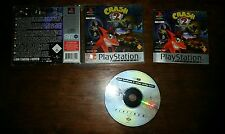 RARE Jeu PS1 PLAY STATION 1/ CRASH BANDICOOT 2 CORTEX STRIKES BACK COMPLET