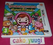 GARDENING MAMA FOREST FRIENDS NINTENDO 3DS TRES BON ETAT VERSION PAL FRANCAISE