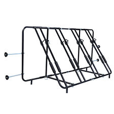 Goplus Adjustable Four Bicycle Bike Rack Truck Pick Up Bed Compact Mount Carrier