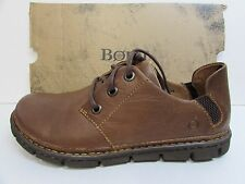 Born Size 9 M Brown Leather Rustic Oxford New Mens Shoes