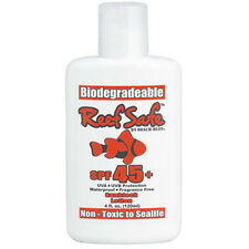 Reef Safe Biodegradable Waterproof SPF 45+ Sunscreen Lotion Non-Toxic UVA UVB