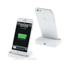 New Desktop Charging Dock Stand Station Charger For Apple iPhone 6s/6  White